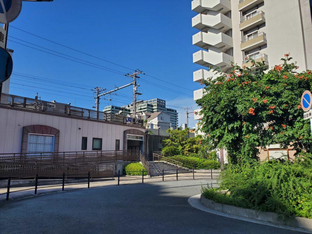 桜ノ宮駅東側ロータリー